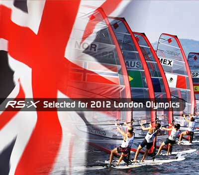 RS:X Selected for 2012 London Olympics